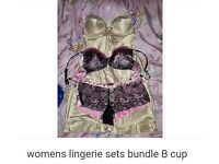 Womens lingerie bundle size B cup