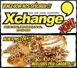 Nous payons toujours le maximum pour vos Bijoux en or !!