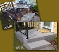 CONCRETE & PARGING REPAIRS