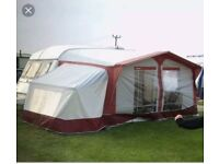 Bradcot Classic caravan awning size 870 with bed annex.