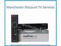 Zgemma H.2H Dual Tuner Cable Receiver/Box With 12 Months Warranty *Free Gift* Full HD