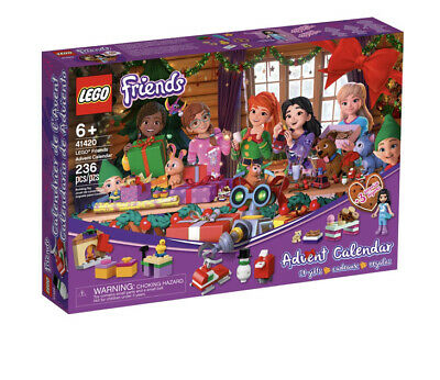 LEGO Friends Advent Calendar 41420 Building Toy for Kids 2020 Christmas Sealed
