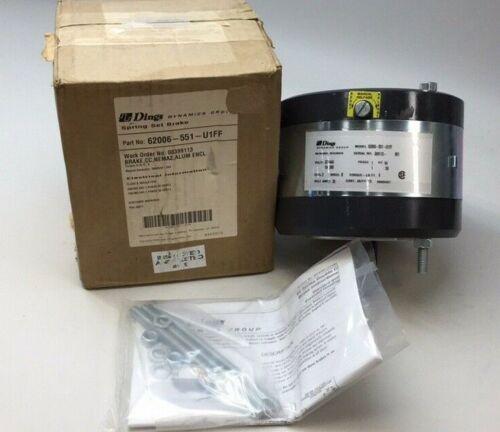Dings Dynamics 62006-551-U1FF Magnetic Spring Set Brake 230/460V Torque 6 LB FT