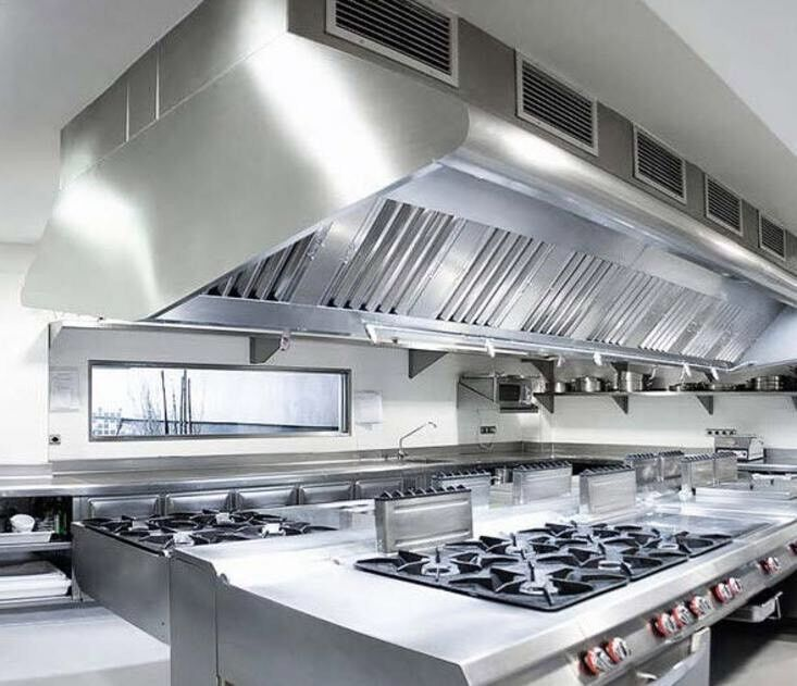24 Hours Service Restaurant Kitchen Extractor Fan Repair Canopy Duct  Ducting Cleaning Services
