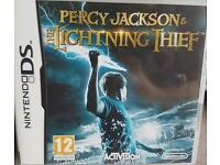 Percy Jackson The Lightening Thief Nintendo DS game