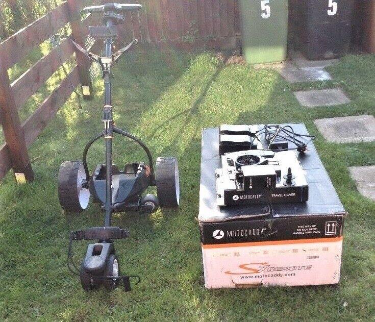 Golf Motocaddy S7 remote electric trolley | in Lewisham, London | Gumtree