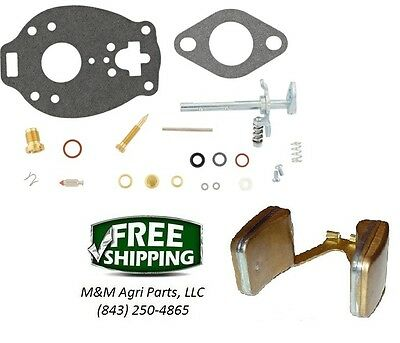 Carburetor Kit Carb Float Case Ih 200 300 400 430 440 Tractor Tsx 680 804 936
