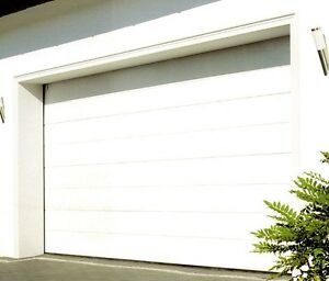 Fully Fitted Hormann Sectional Garage Door M Ribbed