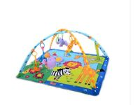 Baby Activity playmat and toys