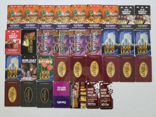Reno, NV - Key Card Collection (34 Pack)