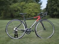 Btwin Triban 520 Road bike Upgraded size 48cm (extra small)