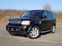 Land Rover Discovery 4 3.0 TDV6 XS Touch Screen Sat Nav 7 Seats