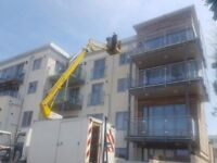 Cherry picker - powered access hire - skilled operative - cheaper than scaffolding
