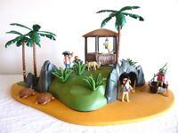 PLAYMOBIL PIRATE TURTLE COVE DESERT ISLAND No. 3799