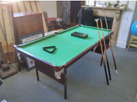 """Snooker table for sale - 6'1"""" x 3'2"""""""