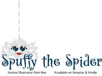 Spuffy the Spider on Amazon & Kindle!