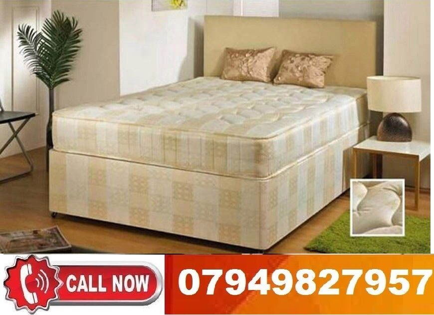 Amazing Offer DOUBLE SMALL SINGLE DOUBLE KING SIZE BASE Beddingin Ilford, LondonGumtree - SELECT 1 CLASSIC DOUBLE bed Only 49SELECT 2 CLASSIC DOUBLE bed With 9 Sprung 89SELECT 3 CLASSIC DOUBLE bed With 10 Ortho 109SELECT 4 CLASSIC DOUBLE bed With 11 MEM FOAM 135
