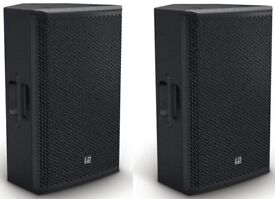 2 x LD Systems Stinger12G3 Passive PA Speakers - 12inch wooden cabs 400W RMS