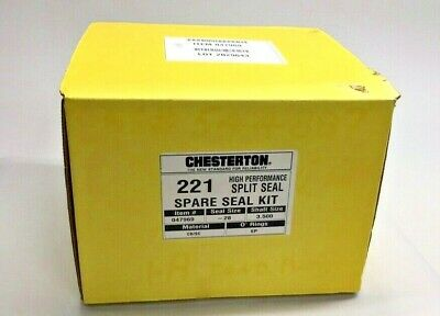 Chesterton 047969 221 Seal Kit Seal Size 28 Shaft 3.500 3-12