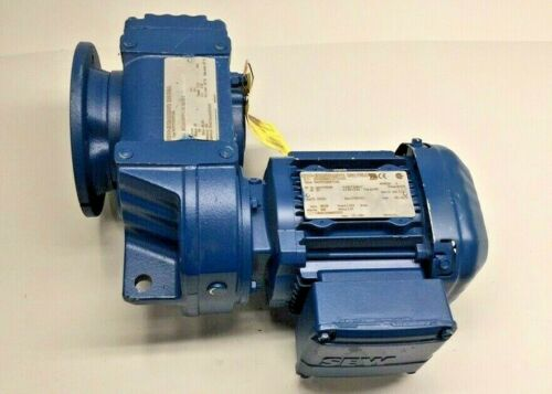 SEW Eurodrive FAF37DRS71S4 66.09 Ratio Gear Motor/Reducer 3ph 230/460V 1212Lb