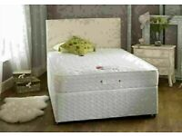 BEST FOR THE REST STAY AT HOME NEW DIVAN SINGLE-DOUBLE+SMALL DOUBLE & KING SIZE BED BASE w MATTRESS