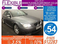 2009 BMW 530D 3.0 M-SPORT GOOD / BAD CREDIT CAR FINANCE AVAILABLE