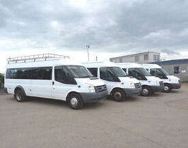 2009 58 Ford TRANSIT 2.4 TDCI EXTRA LONG 17 SEATER FSH 1 OWNER MINIBUS ROOF RACK