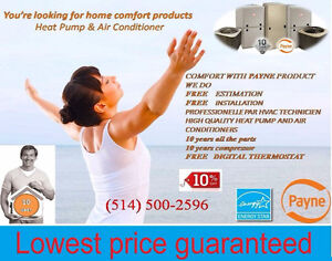 Heat Pump & Air Conditioner Lowest price guaranteed