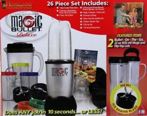 26 PIECE MAGIC BULLET DELUXE - BRAND NEW! STILL IN THE BOX