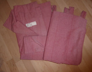 IKEA curtains $ 20, 2 pairs Bouclair curtains $ 10 per pair Kitchener / Waterloo Kitchener Area image 1