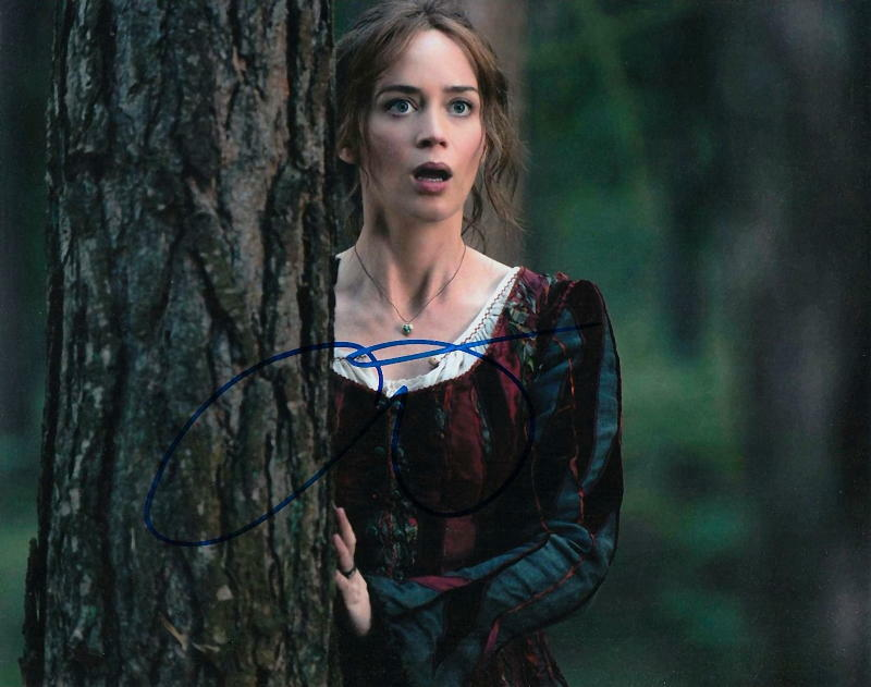 EMILY BLUNT.. Into The Woods - SIGNED
