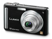 Panasonic Lumix DMC-FS25 Digital Camera + 8GB SD Card + Soft Carry Case