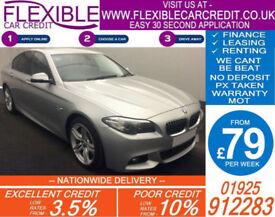 2014 BMW 530D 3.0 TD M-SPORT GOOD / BAD CREDIT CAR FINANCE AVAILABLE