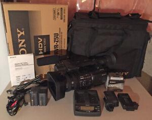 Sony HVR-Z5U w/ HVR-MRC1 + Accessories