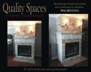 Fireplace mantels/Fireplace design /Fireplace Make-overs