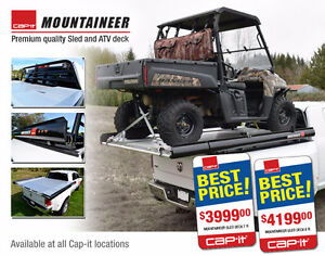 NEW - Cap-it Mountaineer ATV/Sled Deck