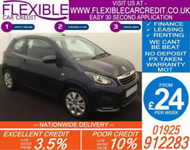 2014 PEUGEOT 108 1.0 ACTIVE GOOD / BAD CREDIT CAR FINANCE AVAILABLE