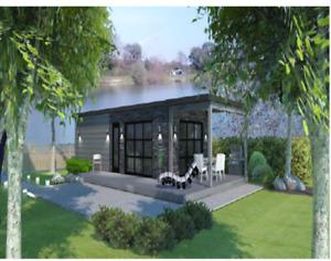 Terrains à vendre ,mini maison coolbox, location,  174$/sem
