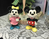 VINTAGE MICKEY & MINNIE MOUSE FIGURINES WALT DISNEY JAPAN