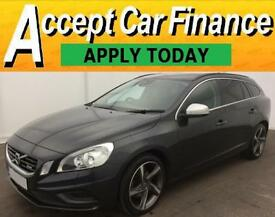 Volvo V60 1.6D D2 ( 115bhp ) Nav ( s/s ) 2013MY R-Design FROM £48 PER WEEK!
