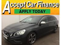 Volvo V60 1.6D D2 ( 115bhp ) Nav ( s/s ) 2013MY R-Design FROM £51 PER WEEK!