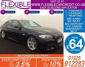 2011 BMW 530D 3.0 M-SPORT GOOD / BAD CREDIT CAR FINANCE AVAILABLE