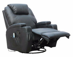 Single Recliner seat chair with massage and heat