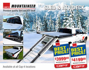 NEW - Cap-it Mountaineer ATV/Sled Deck Prince George British Columbia image 1