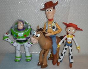 DISNEY Toy Story_ Woody's Roundup Gang** (lot of 4)