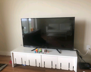 55 inches TV(sold) and TV stand