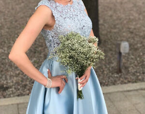 Beautiful XS or Small blue dress - Great for bridesmaids or prom