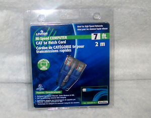 NEW IN BOX LEVITON NETWORK CABLE