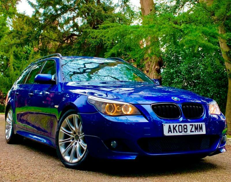 FULLY LOADED - 2008 BMW 535D 3.0 TWIN-TURBO LCI M SPORT TOURING ESTATE / 530D