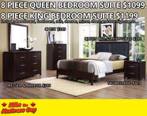 MIKES GOT THE BEST PRICE ON BEDROOMSUITES! $1099!